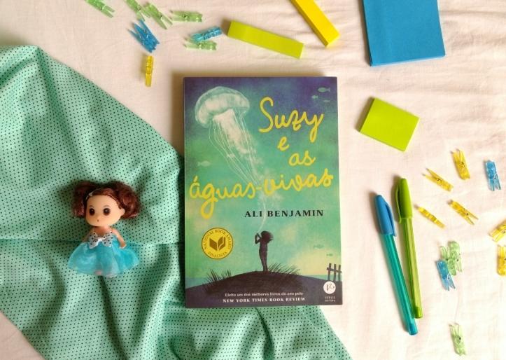 Livro Suzy e as águas vivas